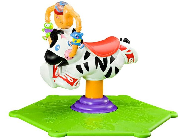 Веселая зебра Fisher Price